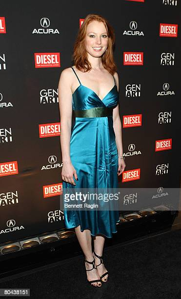 Actress Alicia Witt attends the 13th Annual Gen Art Film Festival Launch Party at the Diesel store March 27 New York New York