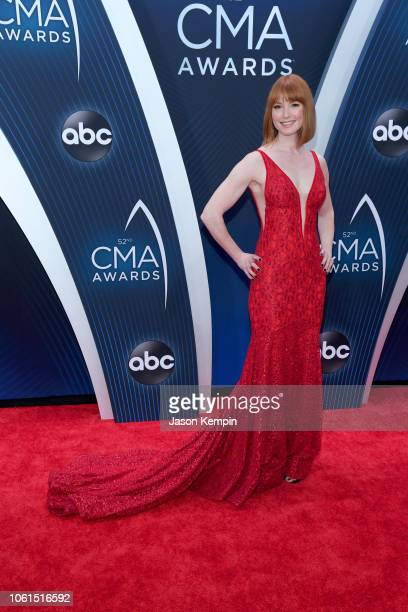 Actress Alicia Witt attends the 52nd annual CMA Awards at the Bridgestone Arena on November 14 2018 in Nashville Tennessee