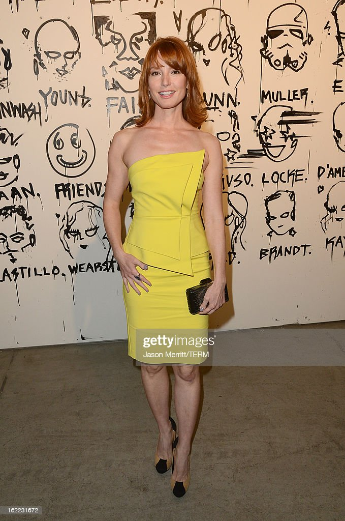 Actress Alicia Witt attends the Art Of Elysium's 6th Annual Pieces Of Heaven powered by Ciroc Ultra Premium Vodka at the Ace Museum on February 20, 2013 in Los Angeles, California.