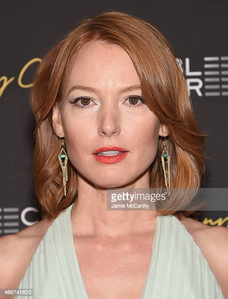 """Actress Alicia Witt attends the """"Danny Collins"""" New York premiere at AMC Lincoln Square Theater on March 18, 2015 in New York City."""