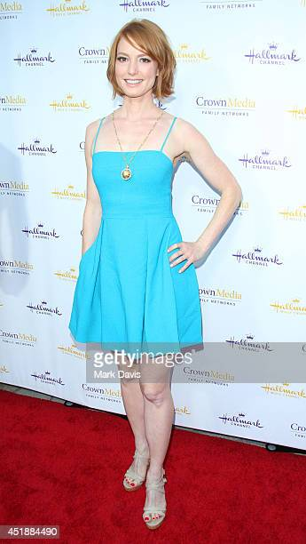Actress Alicia Witt attends the Hallmark Channel Hallmark Movie Channel's 2014 Summer TCA Party on July 8 2014 in Beverly Hills California