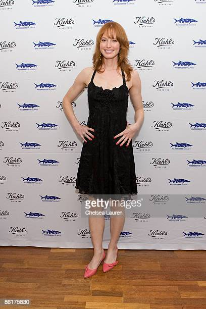 Actress Alicia Witt attends the launch of Limited Edition Superbly Restorative Argan Body Lotion on April 22 2009 in Santa Monica California