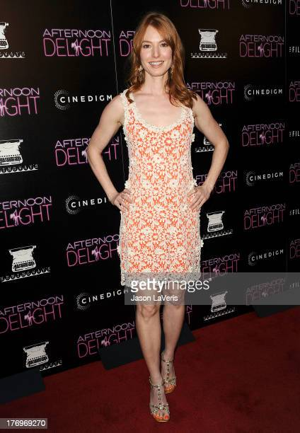 Actress Alicia Witt attends the premiere of 'Afternoon Delight' at ArcLight Hollywood on August 19 2013 in Hollywood California