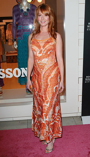 Actress Alicia Witt attends the Rodeo Drive Walk of Style Award event honoring  Iman and Missoni 29ca9ad61