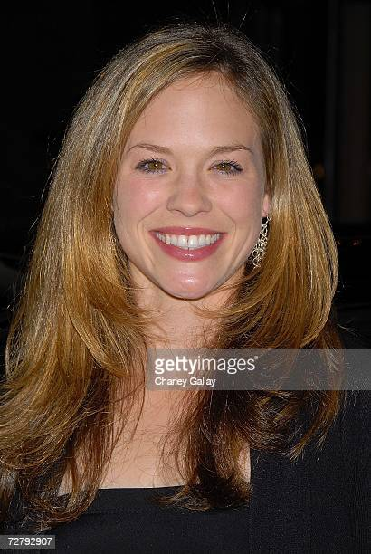 Actress Alicia Ziegler arrives at the 11th Annual Multicultural Prism Awards at the Sheraton Universal Hotel on December 10, 2006 in Los Angeles,...