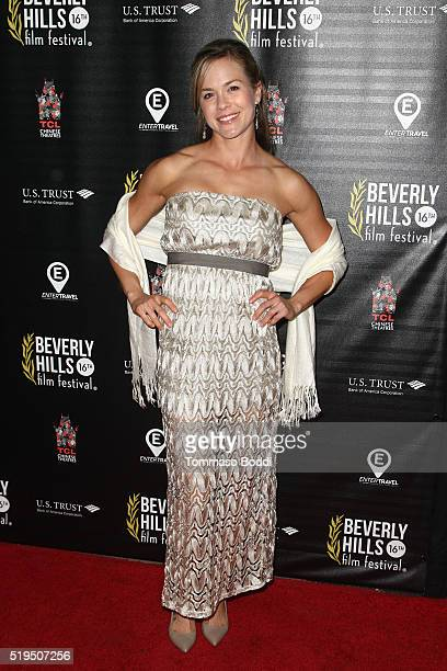 Actress Alicia Ziegler attends the Beverly Hills Film Festival Opening Night Premiere Of The Lennon Report And Baby Baby Baby at TCL Chinese 6...