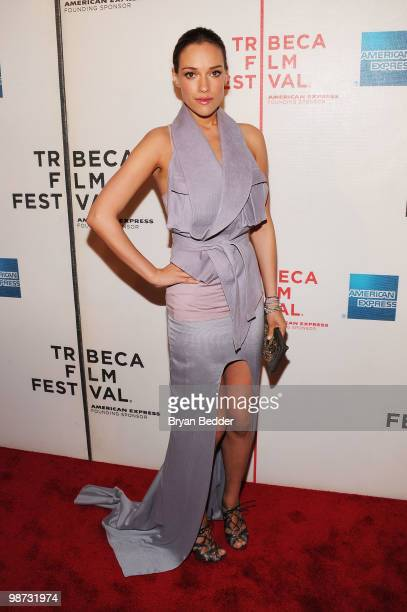 Actress Alicja Bachleda attends the premiere of Ondine during the 2010 Tribeca Film Festival at the Tribeca Performing Arts Center on April 28 2010...