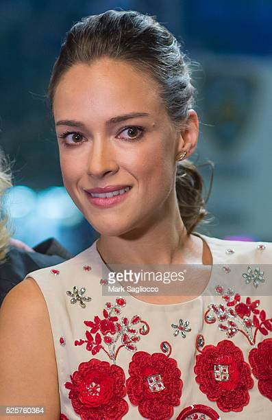 Actress Alicja Bachleda attends the 'The American Side' New York Screening at the IFC Center on April 28 2016 in New York City