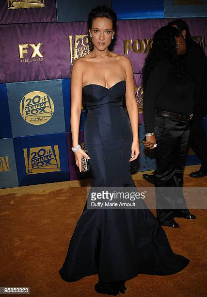 Actress Alicja BachledaCurus attends Fox's 2010 Golden Globes Awards Party at Craft on January 17 2010 in Century City California