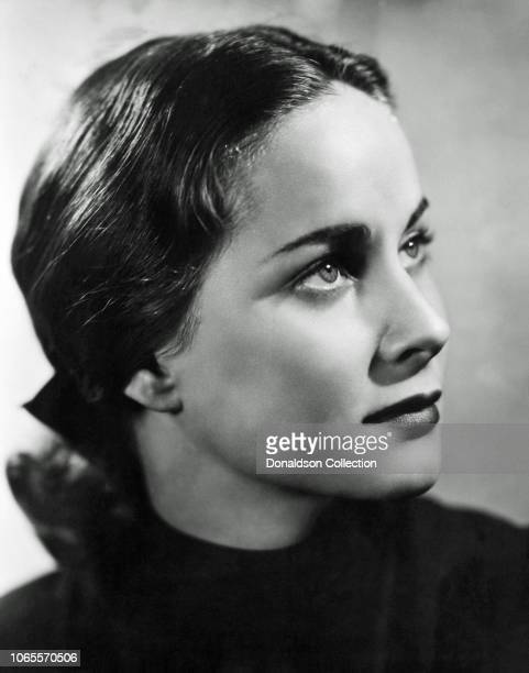 Actress Alida Valli in a scene from the movie The Paradine Case