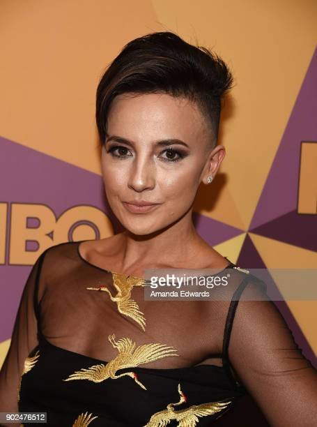 Actress Alin Sumarwata arrives at HBO's Official Golden Globe Awards After Party at Circa 55 Restaurant on January 7 2018 in Los Angeles California