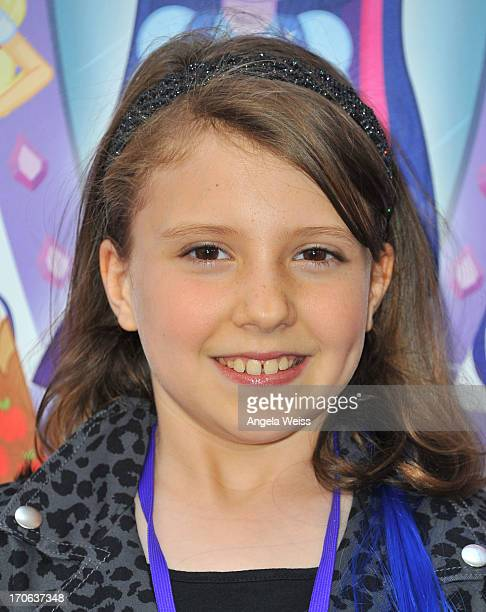 Actress Alina Foley arrives at the 2013 Los Angeles Film Festival Premiere of Hasbro Studios' 'My Little Pony Equestria Girls' at Regal Cinemas LA...