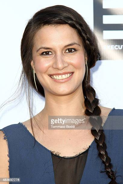 Actress Alisa Burket attends the premiere of 'Alleluia The Devil's Carnival' held at the Egyptian Theatre on August 11 2015 in Hollywood California