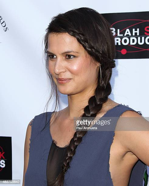 Actress Alisa Burket attends the premiere of 'Alleluia The Devil's Carnival' at the Egyptian Theatre on August 11 2015 in Hollywood California