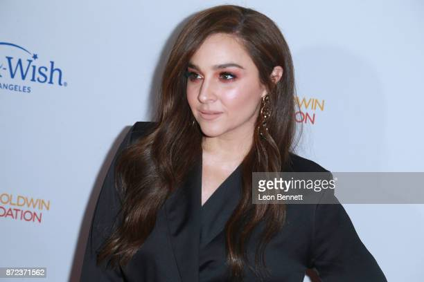 Actress Alisan Porter attends the MakeAWish Greater Los Angeles 2017 Wish Gala at Hollywood Palladium on November 9 2017 in Los Angeles California