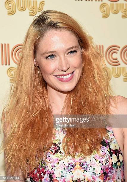Actress Alise Shoemaker attends 'The Nice Guys' New York screening at Metrograph on May 12 2016 in New York City