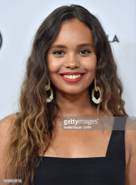 Actress Alisha Boe attends Beautycon Festival LA 2018 at Los Angeles Convention Center on July 14 2018 in Los Angeles California