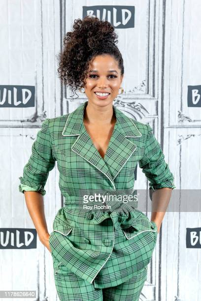 Actress Alisha Wainwright discusses the Netflix show Raising Dion with the Build Series at Build Studio on October 02 2019 in New York City