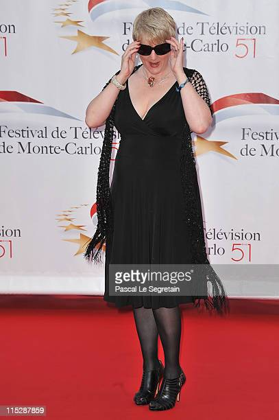 Actress Alison Arngrim arrives for the opening night of the 2011 Monte Carlo Television Festival held at Grimaldi Forum on June 6 2011 in MonteCarlo...