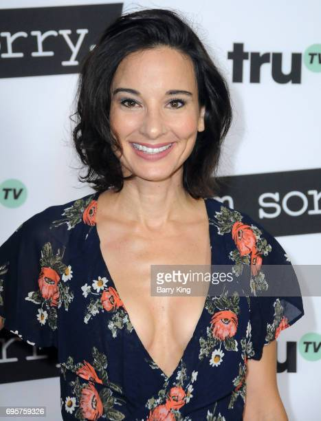 Actress Alison Becker attends the premiere of truTV's 'I'm Sorry' at SilverScreen Theater at the Pacific Design Center on June 13 2017 in West...