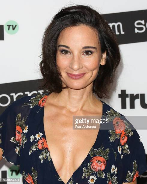Actress Alison Becker attends the premiere of truTV's 'I'm Sorry' at The SilverScreen Theater at the Pacific Design Center on June 13 2017 in West...