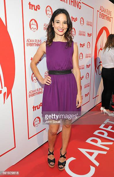 "Actress Alison Becker attends truTV's ""Adam Ruins Everything"" Premiere Screening Event on August 18 at The Redbury Hotel on August 18 2016 in..."