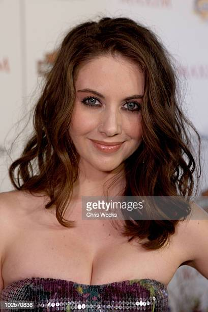 Actress Alison Brie arrives at the 11th annual Maxim Hot 100 Party with Harley-Davidson, ABSOLUT VODKA, Ed Hardy Fragrances, and ROGAINE held at...