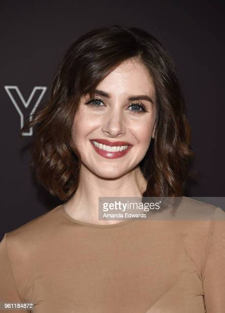 Actress Alison Brie arrives at the #NETFLIXFYSEE Animation Panel featuring 'Big Mouth' and 'BoJack Horseman' at the Netflix FYSEE At Raleigh Studios...