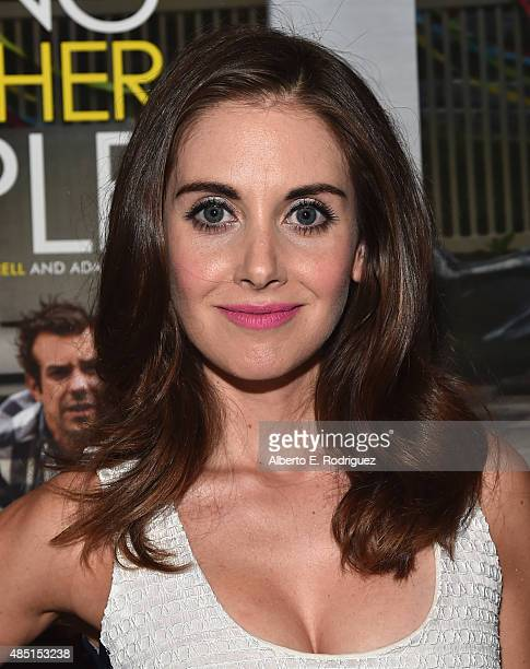 Actress Alison Brie attend the Tastemaker screening of IFC Films' Sleeping With Other People on August 24 2015 in Los Angeles California