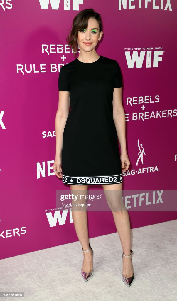 Actress Alison Brie attends Netflix - Rebels and Rules Breakers For Your Consideration event at Netflix FYSee Space on May 12, 2018 in Los Angeles, California.
