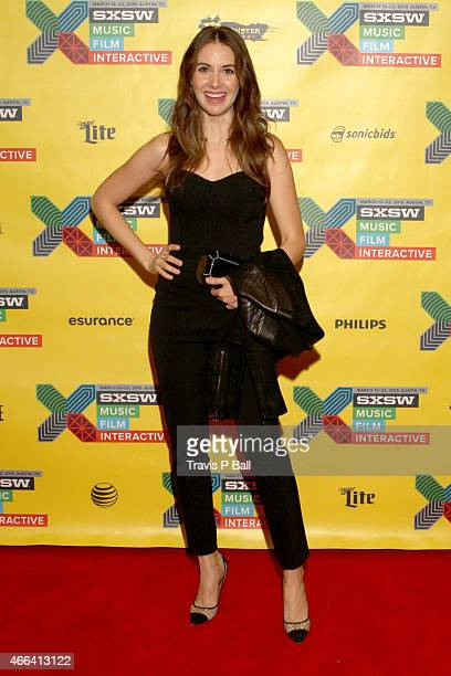 Actress Alison Brie attends 'The Cast Of Community On Moving To Digital' during 2015 SXSW Music Film Interactive Festival at Austin Convention Center...