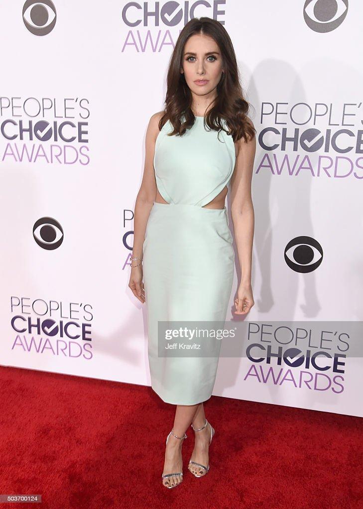 People's Choice Awards 2016 - Red Carpet : Fotografía de noticias