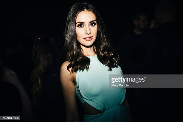 Actress Alison Brie attends the People's Choice Awards 2016 at Microsoft Theater on January 6 2016 in Los Angeles California