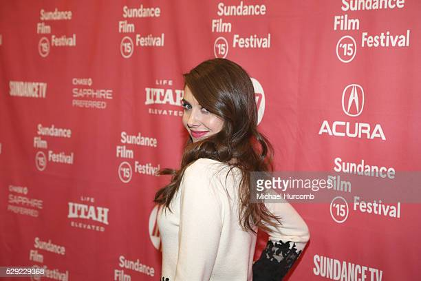 """Actress Alison Brie attends the """"Sleeping with Other People"""" premiere at the 2015 Sundance Film Festival"""