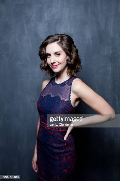 Actress Alison Brie from the film The Disaster Artist poses for a portrait at the 2017 Toronto International Film Festival for Los Angeles Times on...