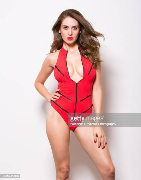 Actress Alison Brie is photographed for GQ Mexico on November 11 in Los Angeles California COVER IMAGE