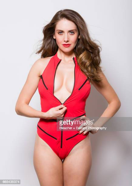 Actress Alison Brie is photographed for GQ Mexico on November 11 in Los Angeles California