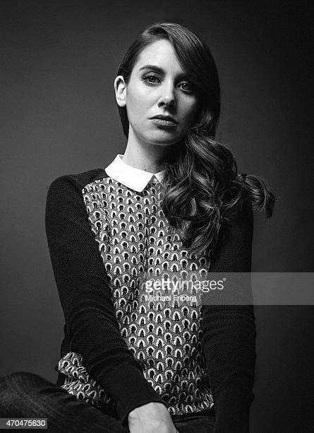 Actress Alison Brie is photographed for Variety on February 3 2015 in Park City Utah