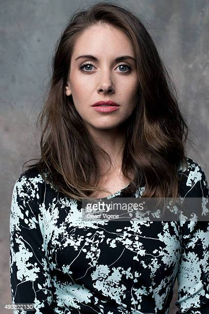 Actress Alison Brie is photographed on September 10 2015 in Deauville France
