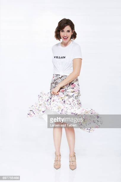 Actress Alison Brie of Netflix's 'GLOW' is photographed for Entertainment Weekly Magazine on June 11 2017 in Austin Texas