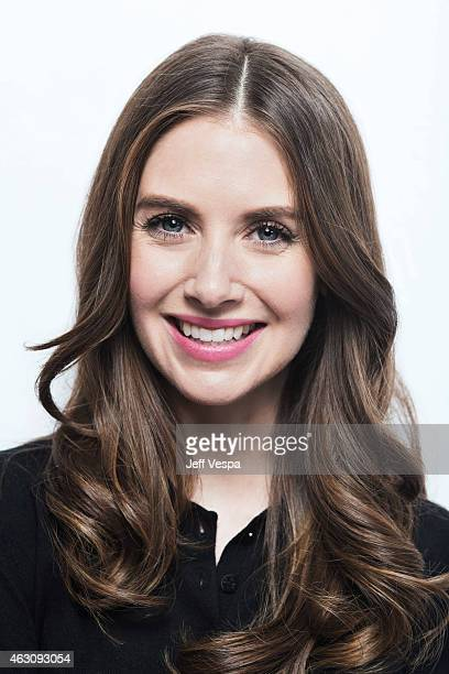 Actress Alison Brie poses for a portrait at the 2015 Sundance Film Festival on January 23 2015 in Park City Utah