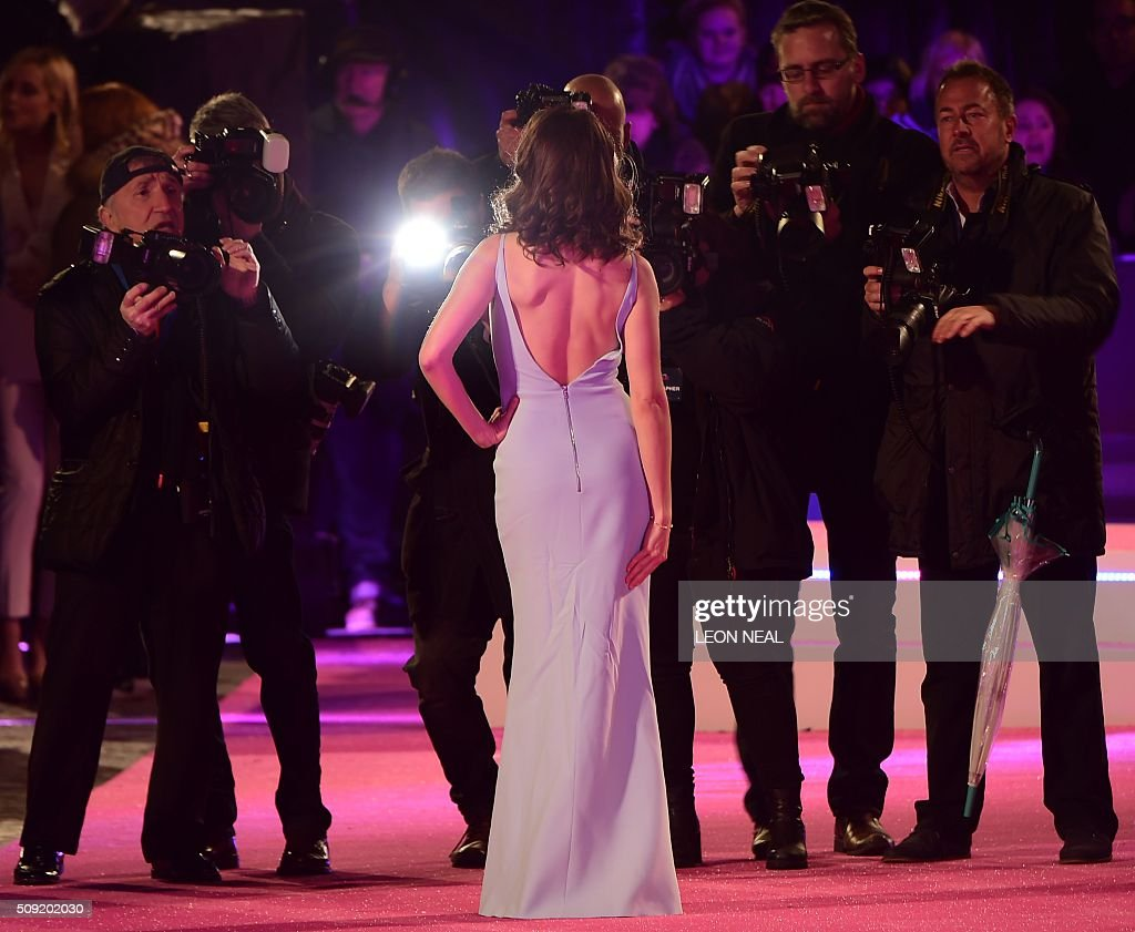 Us actress alison brie poses on the red carpet during arrivals for us actress alison brie poses on the red carpet during arrivals for the european premiere of ccuart Choice Image