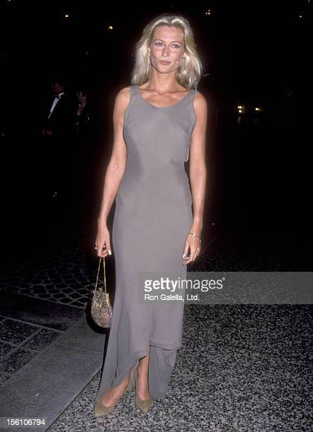 Actress Alison Doody attends the American Cancer Society Honors Herbert Ross on March 16 1993 at Regent Beverly Wilshire Hotel in Beverly Hills...