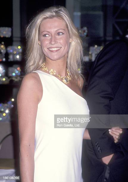 Actress Alison Doody attends the American Ireland Fund's Heritage Award Honoring Angela Lansbury on November 4 1993 at Beverly Hilton Hotel in...