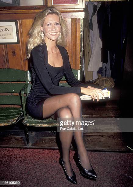 Actress Alison Doody attends the 'Someone Who'll Watch Over Me' Opening Night Party on November 23, 1992 at Gallagher's in New York City.