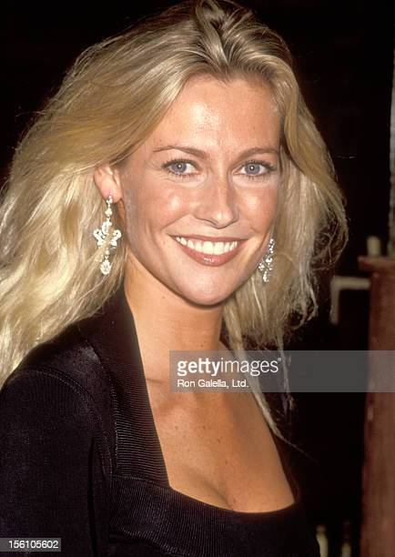 Actress Alison Doody attends the 'Someone Who'll Watch Over Me' Opening Night Party on November 23 1992 at Gallagher's in New York City