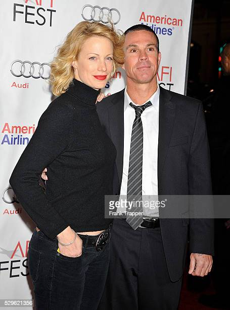 """Actress Alison Eastwood and Ash Adams arrive at the screening of """"Casino Jack"""" during AFI FEST 2010 presented by Audi held at Grauman's Chinese..."""