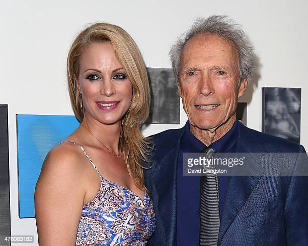 Actress Alison Eastwood and father actor/director Clint Eastwood attend the Art for Animals fundraiser art event hosted by Alison Eastwood at De Re...