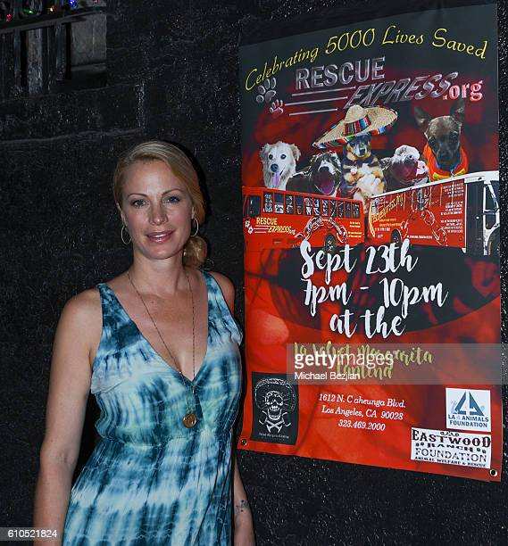 Actress Alison Eastwood at Alison Eastwood And Linda Carel Host Private Reception For Rescue Express at Velvet Margarita on September 23 2016 in...