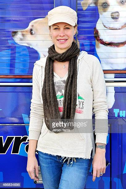 Actress Alison Eastwood attends Eastwood Ranch Foundation and PAWS For Hope and Faith Kick Off 'No Pet Left Behind' adoption event at San Bernardino...